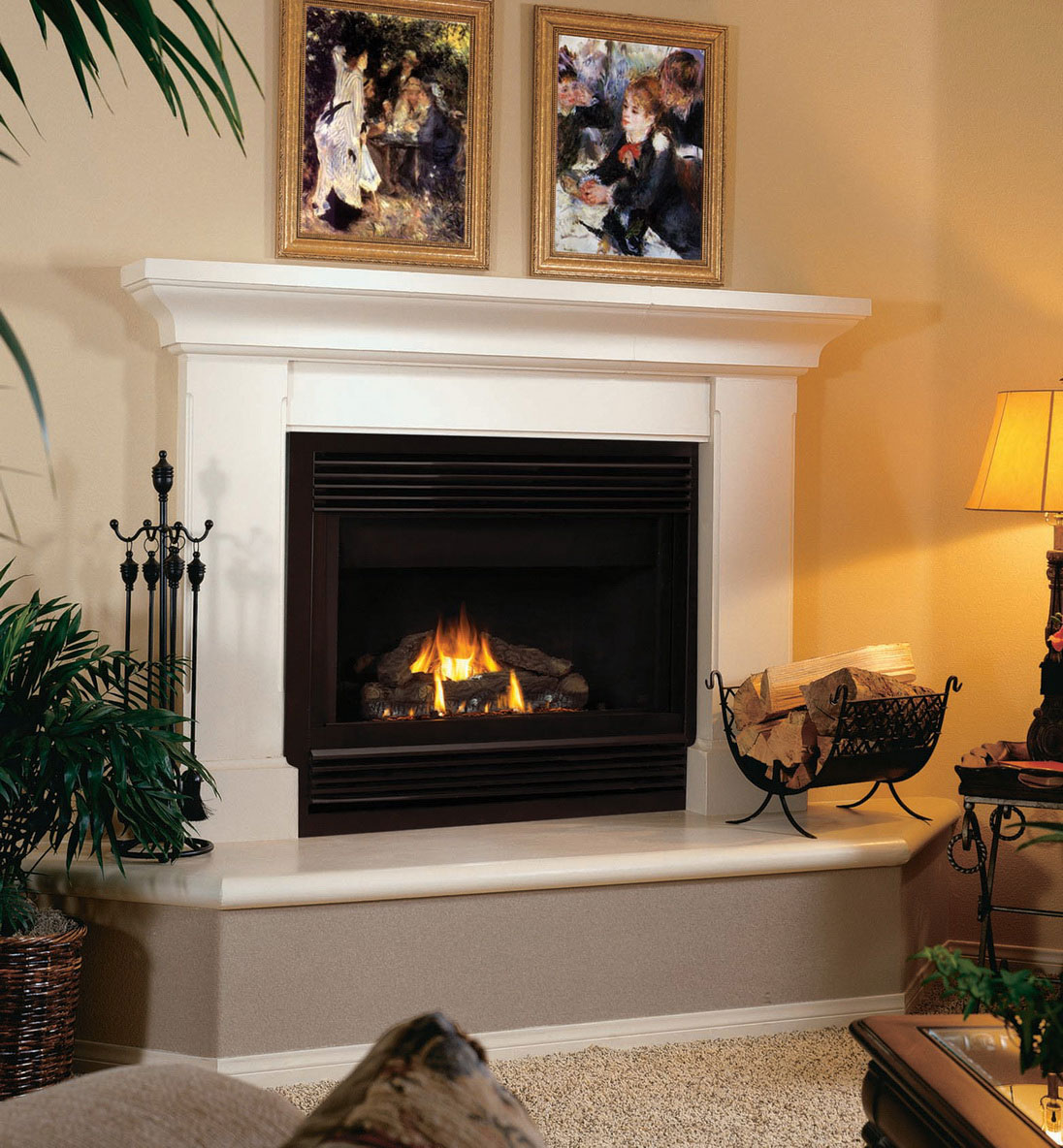 fireplace designs and mantels