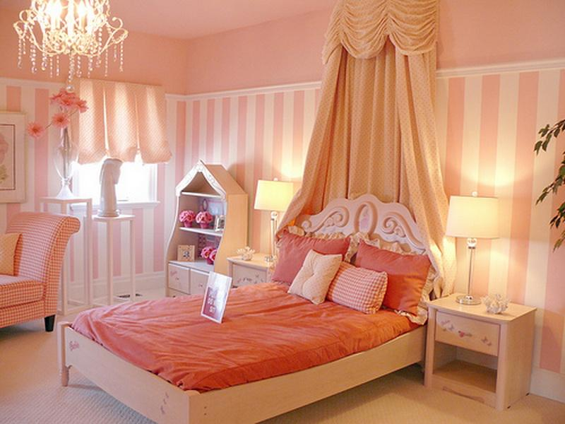 Image of: girl bedroom decorating ideas