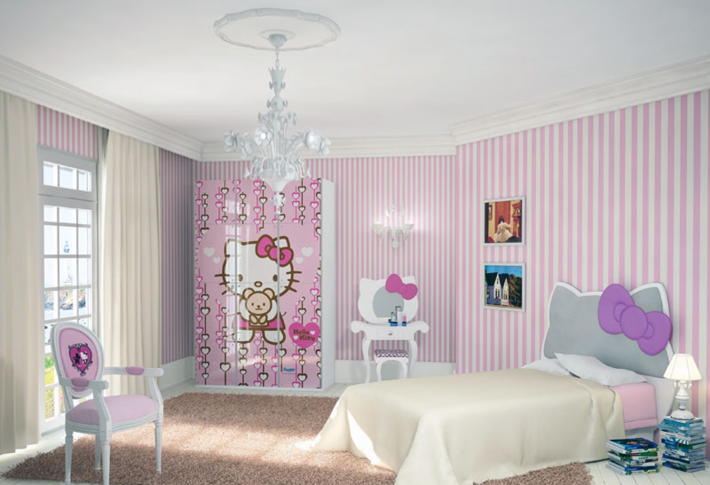 Image of: girl decorations for bedroom