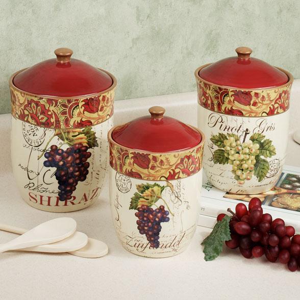 grape kitchen decor sets