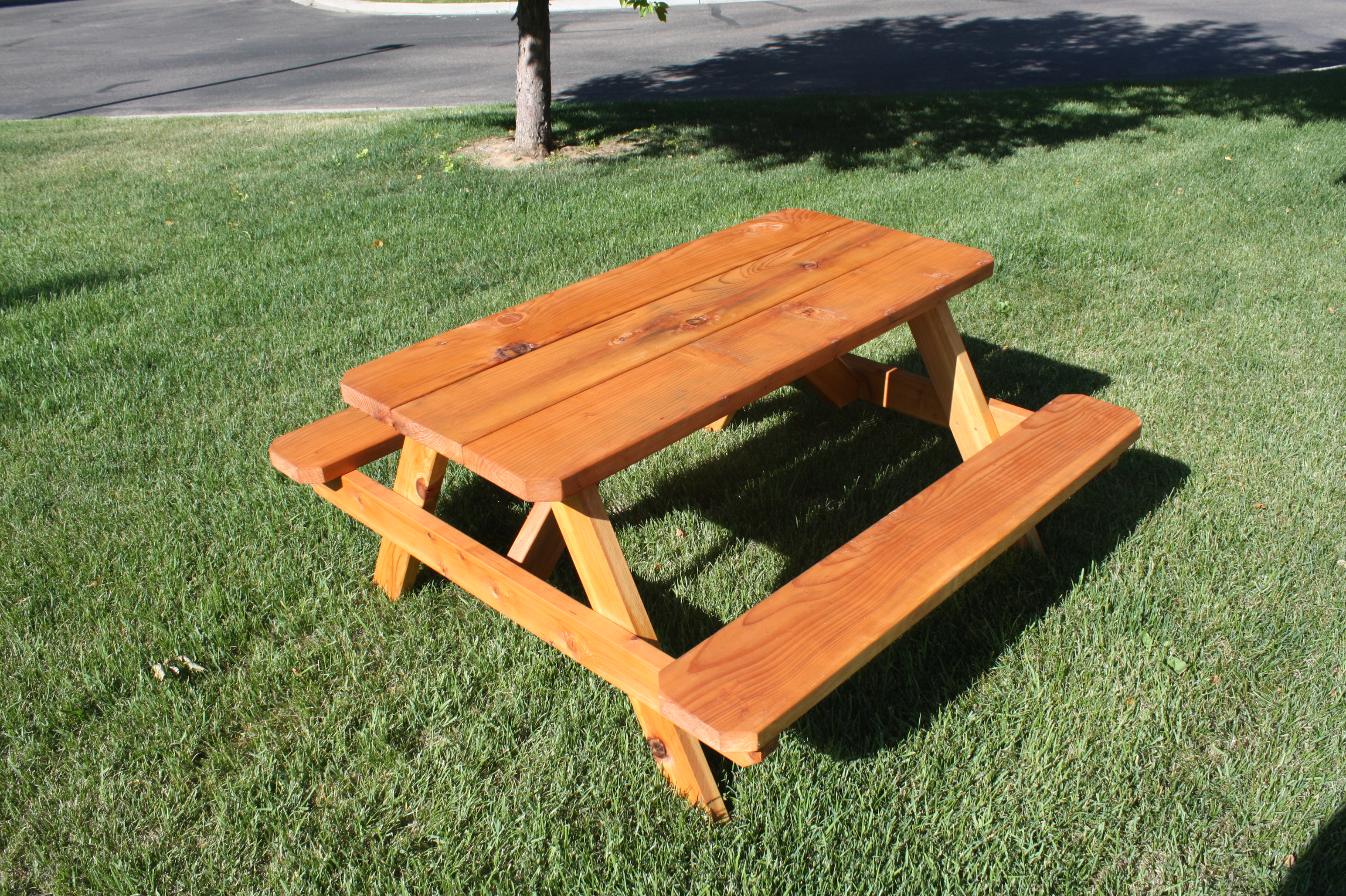 Fantastic Home Depot Outdoor Picnic Table Icmt Set Natural Home Inzonedesignstudio Interior Chair Design Inzonedesignstudiocom