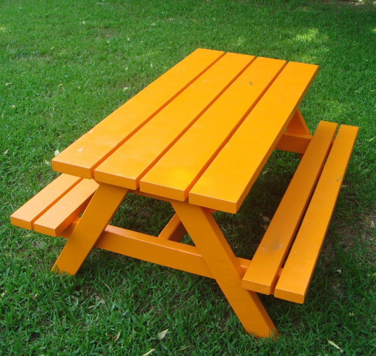 Image of: home depot picnic table bench