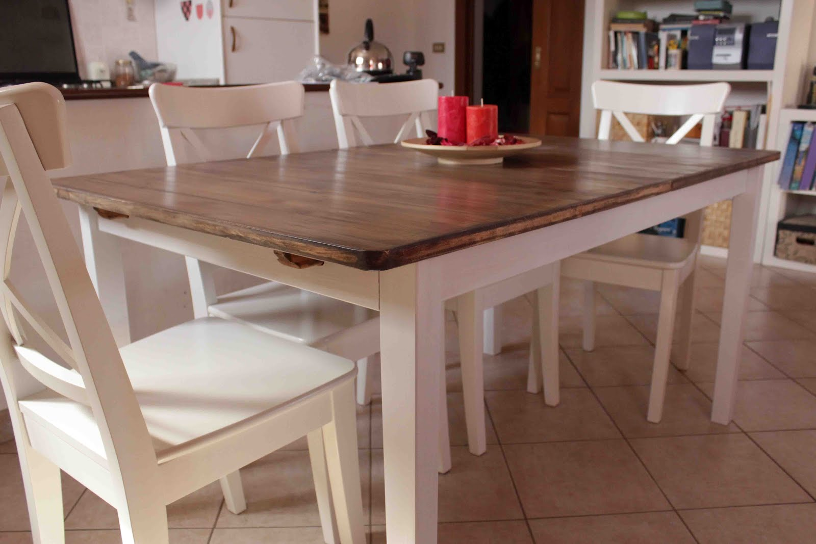 Image of: ikea bjursta table and chairs