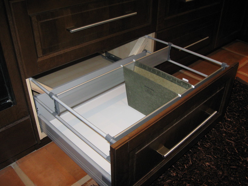 Image of: ikea kitchen cabinet drawer organizer