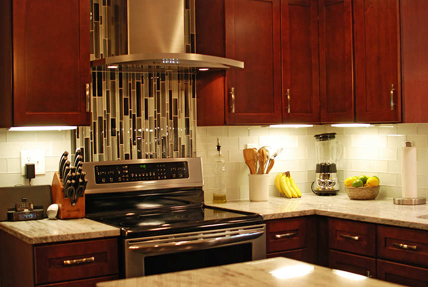 Image of: kitchen backsplash designs behind stove