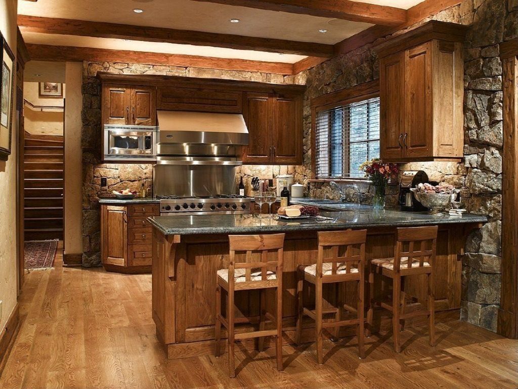 Image of: kitchen backsplash designs traditional