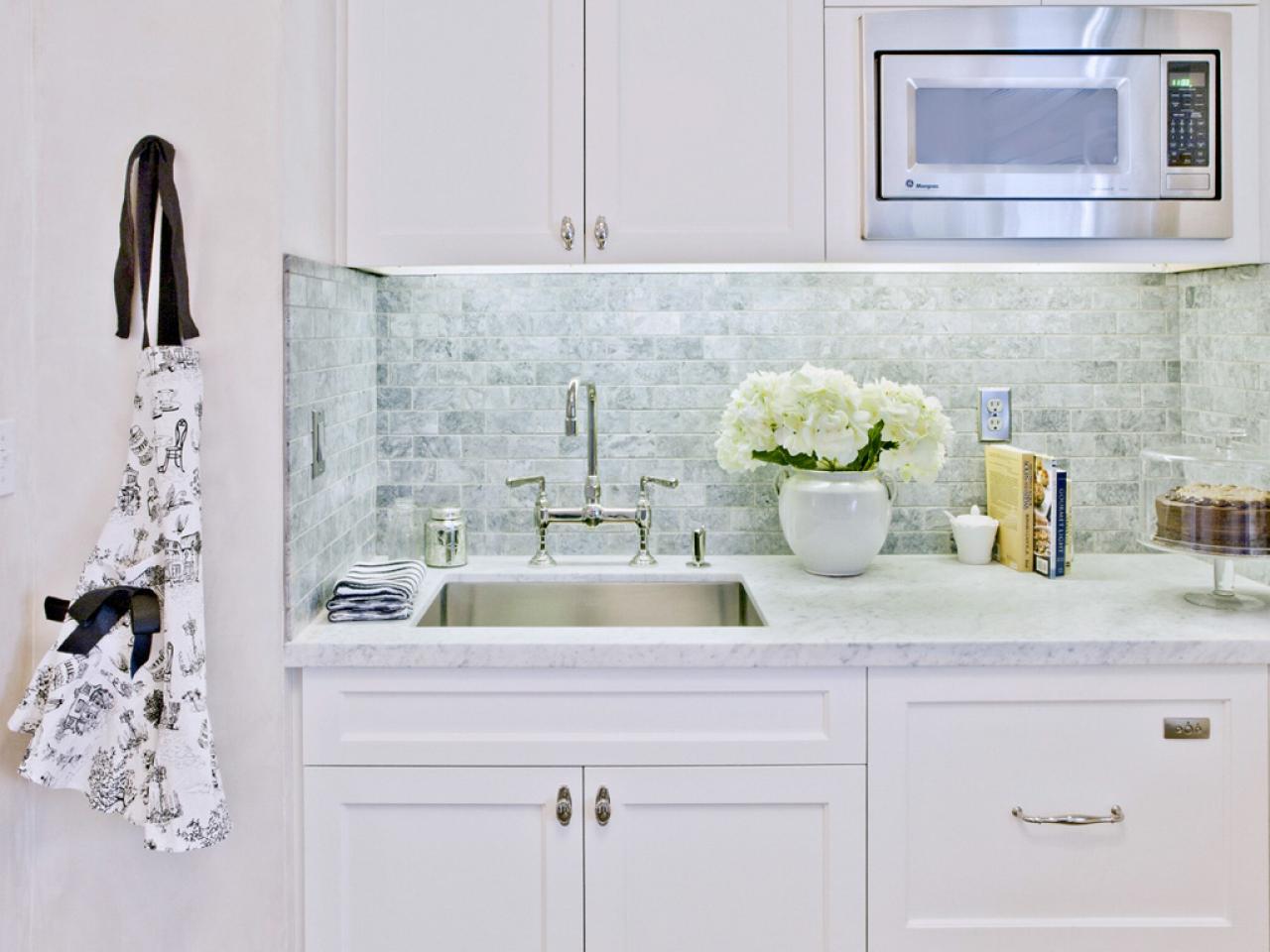 Image of: kitchen backsplash designs with subway tile
