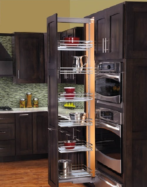 kitchen cabinet organization design