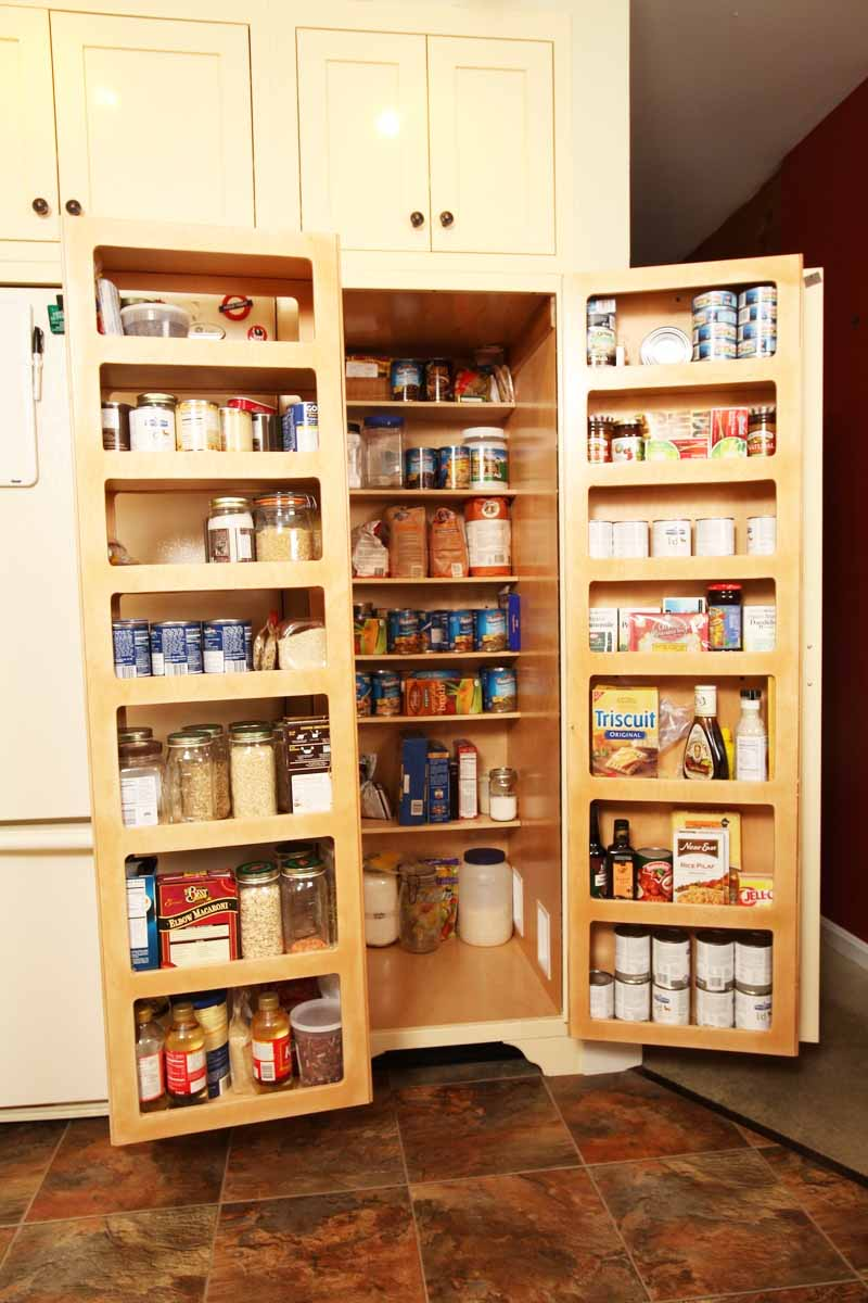 Image of: kitchen cabinet organizers canned foods