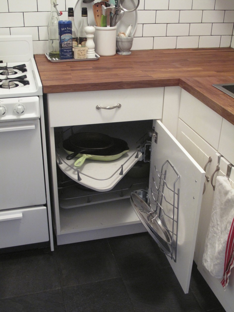 Image of: kitchen cabinet organizers ikea