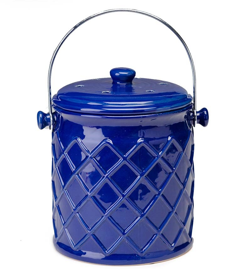 Image of: kitchen compost bin ceramic