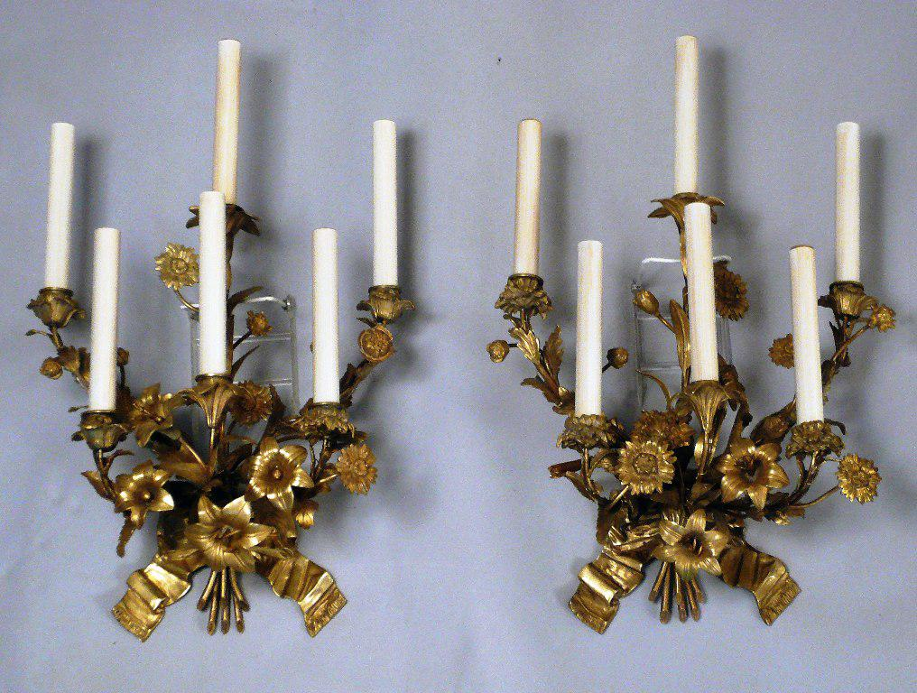 Image of: large wall candle decor