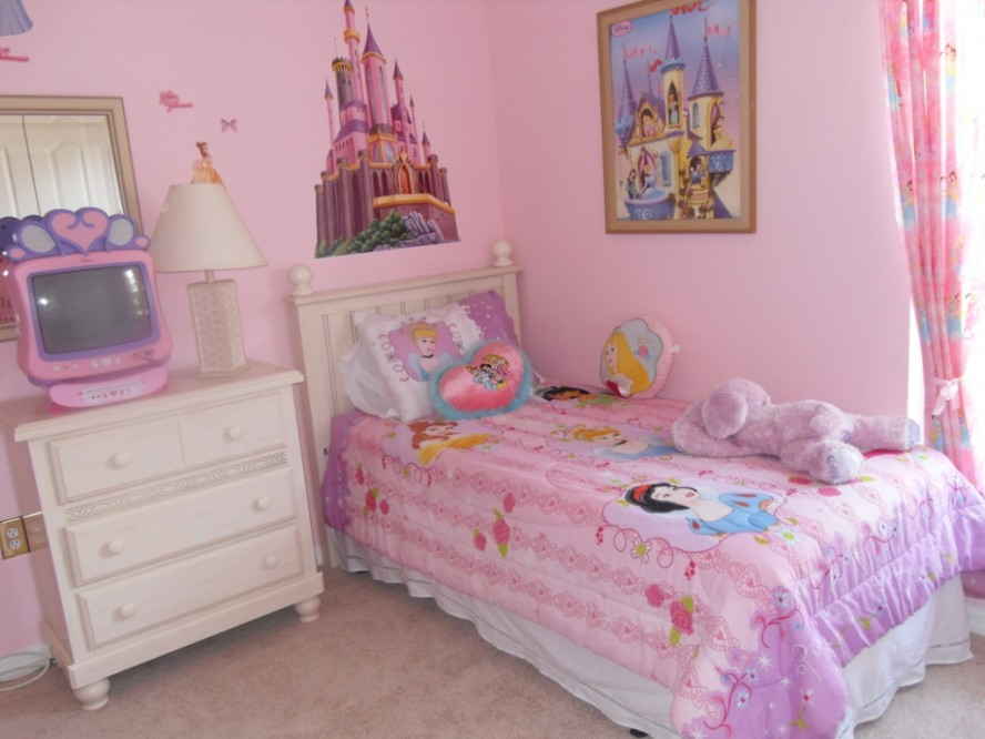 Image of: little girl bedroom decor