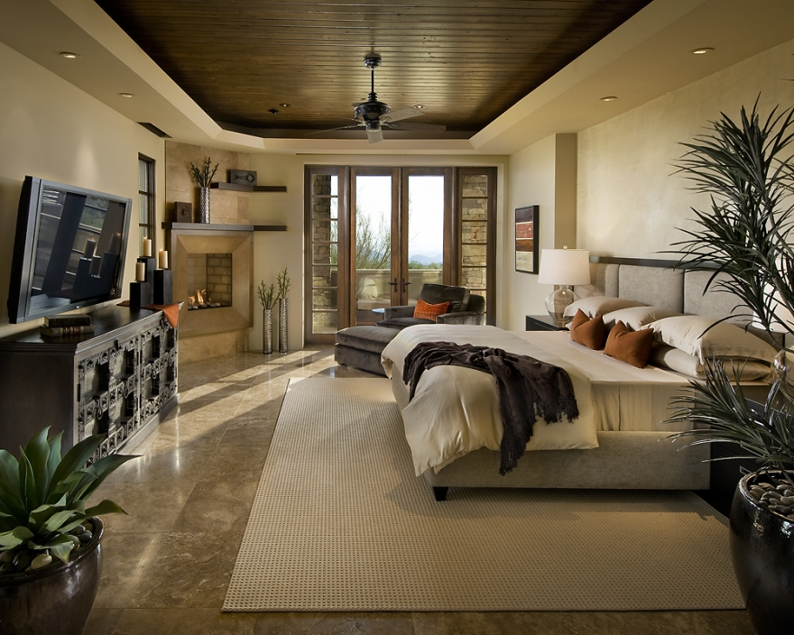 Image of: master bedroom ideas and tv