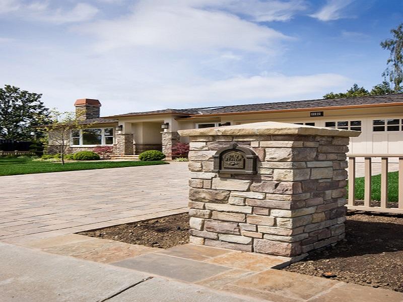 modern brick mailbox designs