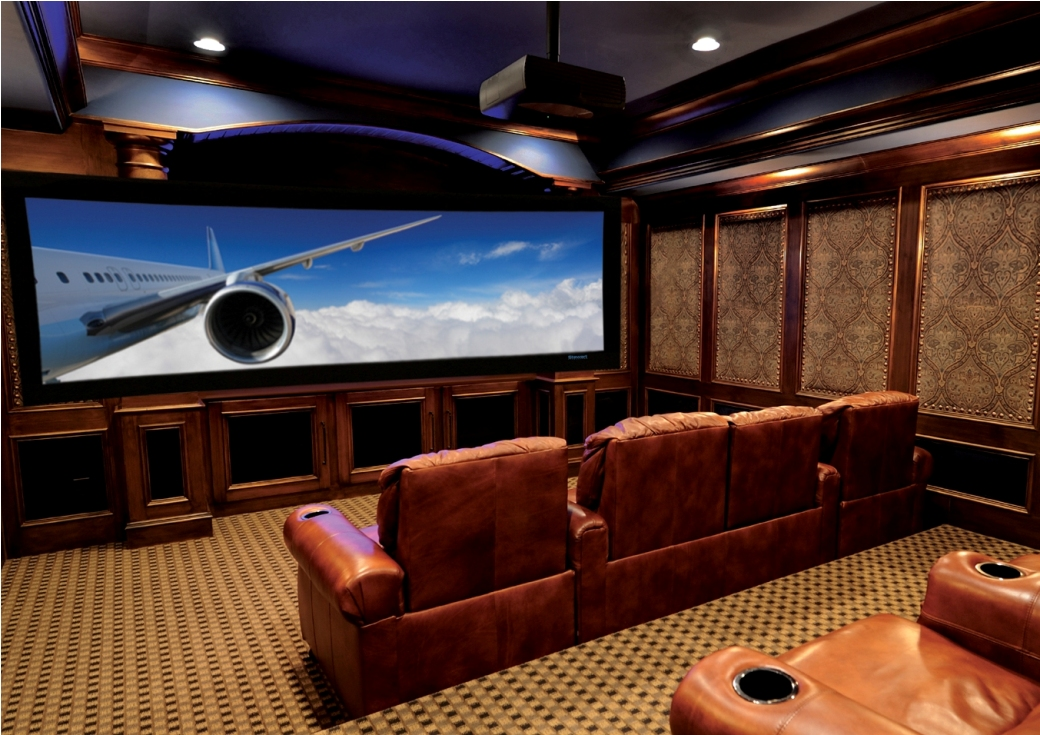 Image of: movie room decor ideas