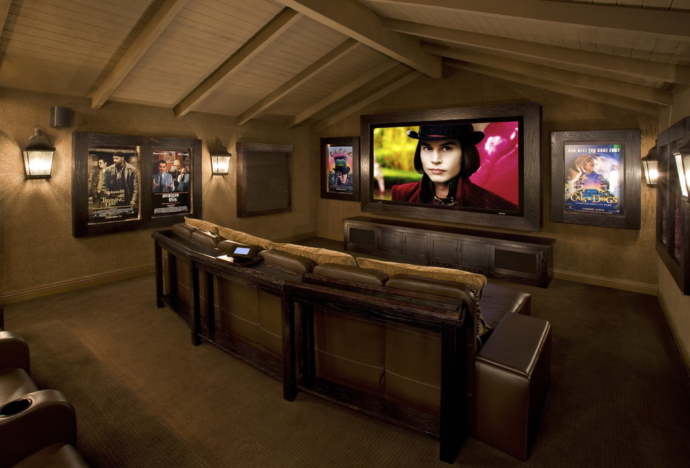 Image of: movie theater room decorating ideas
