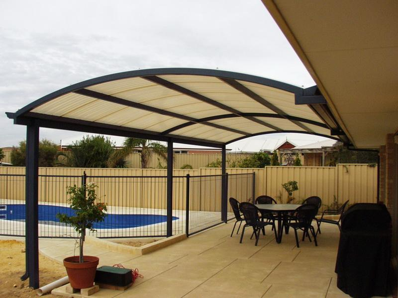 Image of: patio cover ideas on a budget