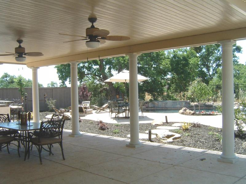 Image of: patio covers and designs