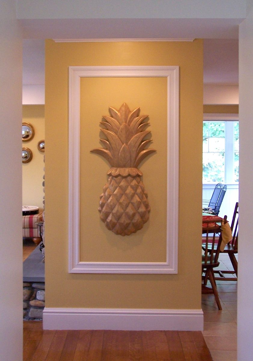 Image of: pineapple wall decor