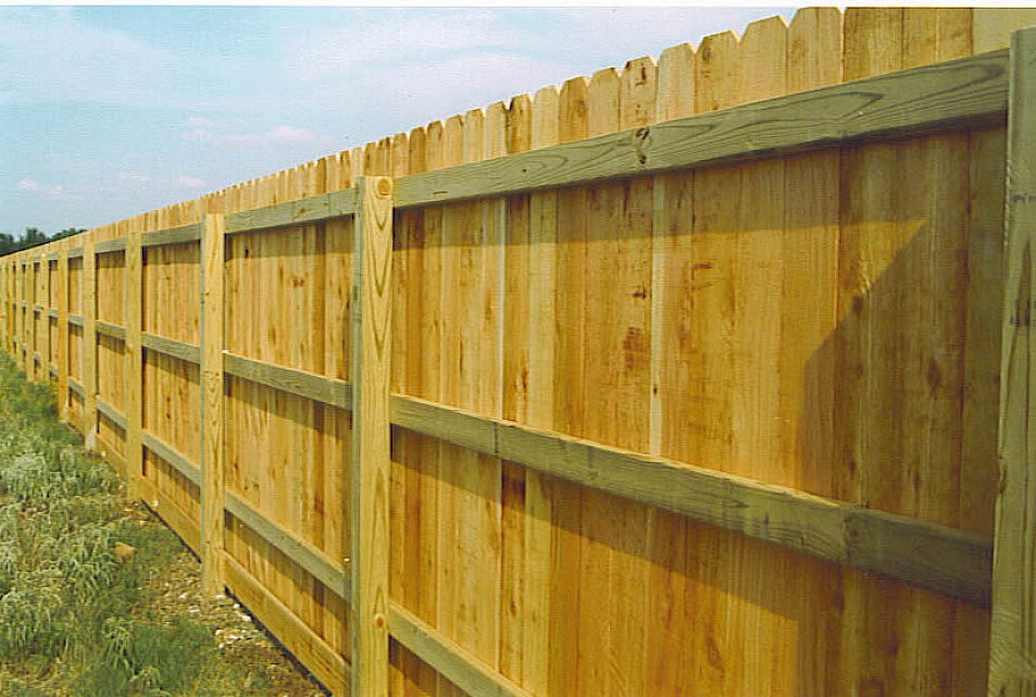 Image of: privacy fence design ideas