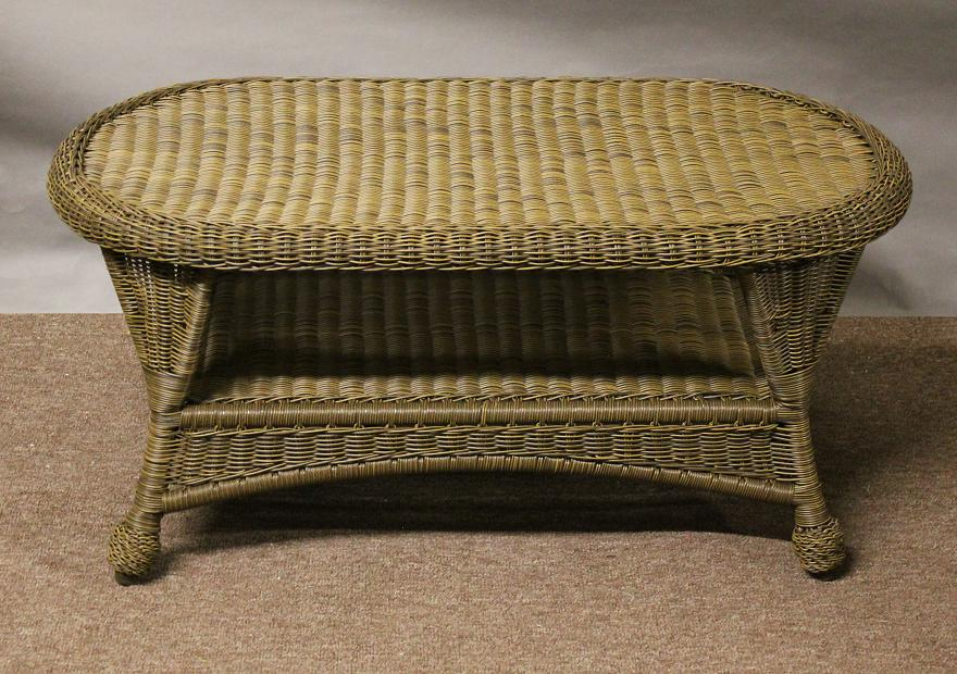 Image of: rattan coffee table