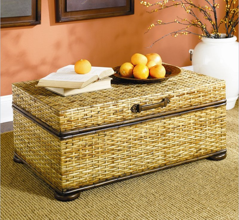 Image of: rattan coffee tables