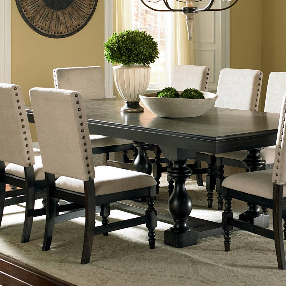 Image of: rectangle dining room table