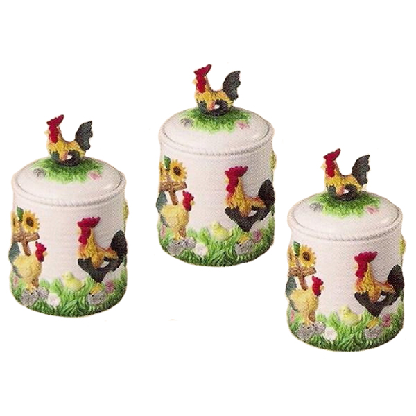 rooster kitchen decor sets