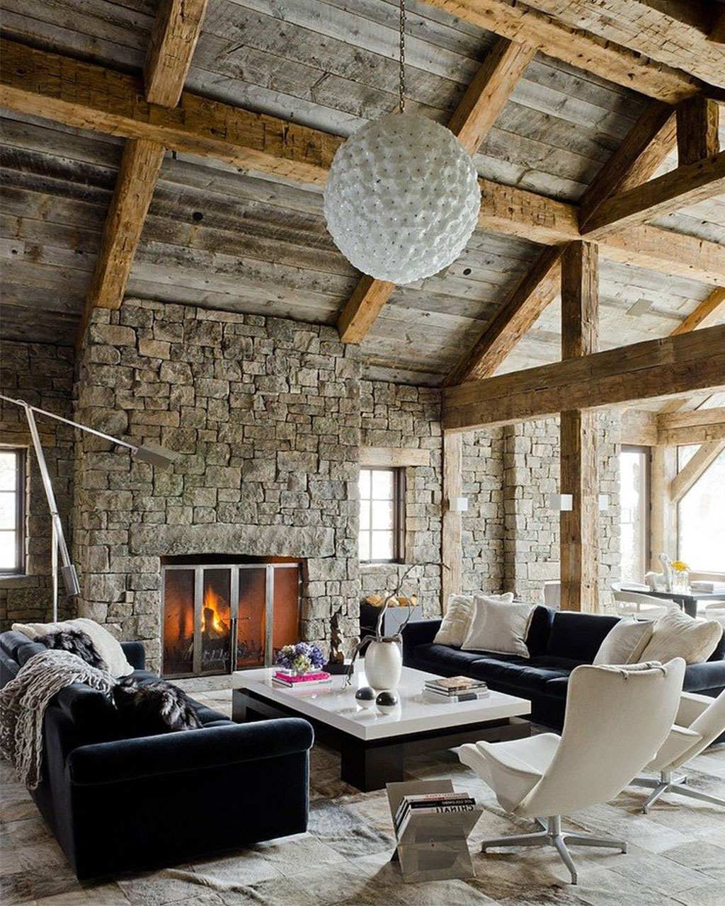 rustic modern home decor