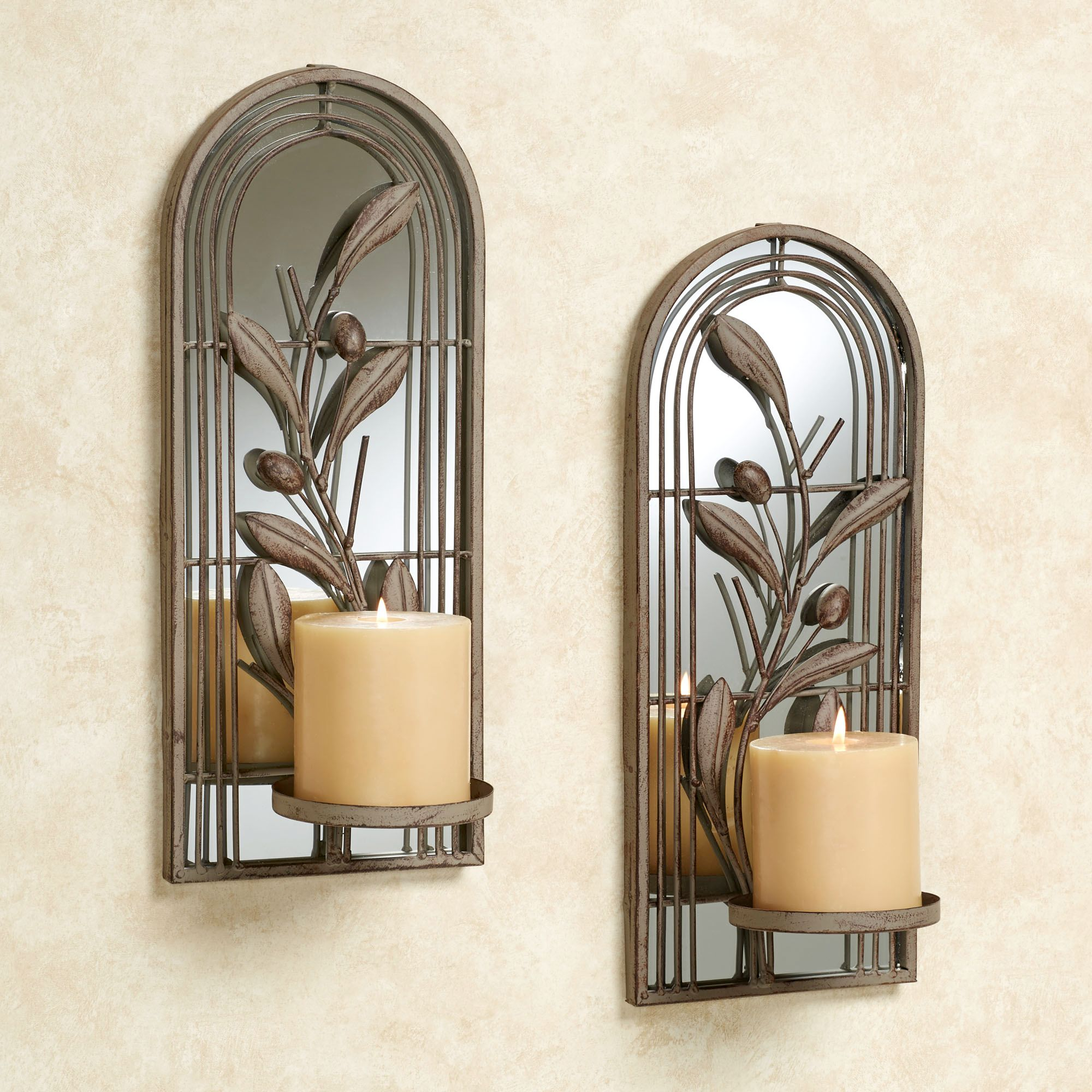 Image of: sconces candle wall decor
