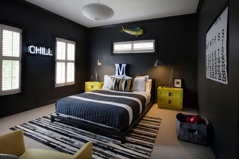 teen boy bedroom decor