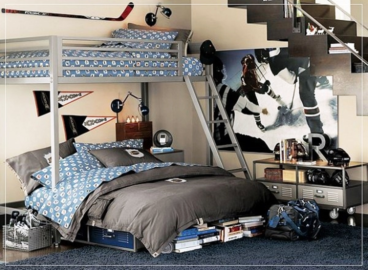 Image of: teen boy bedroom decorating ideas