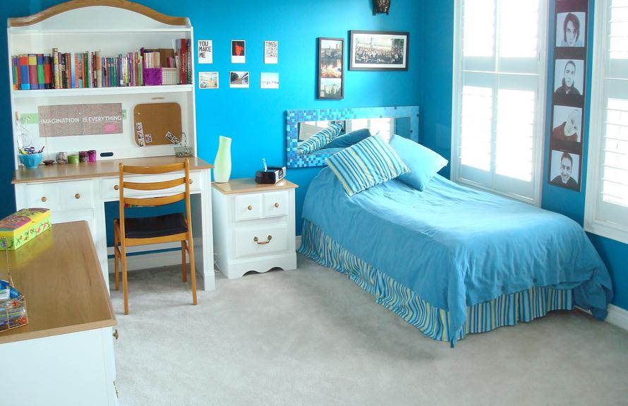 Image of: teen girl bedroom decor