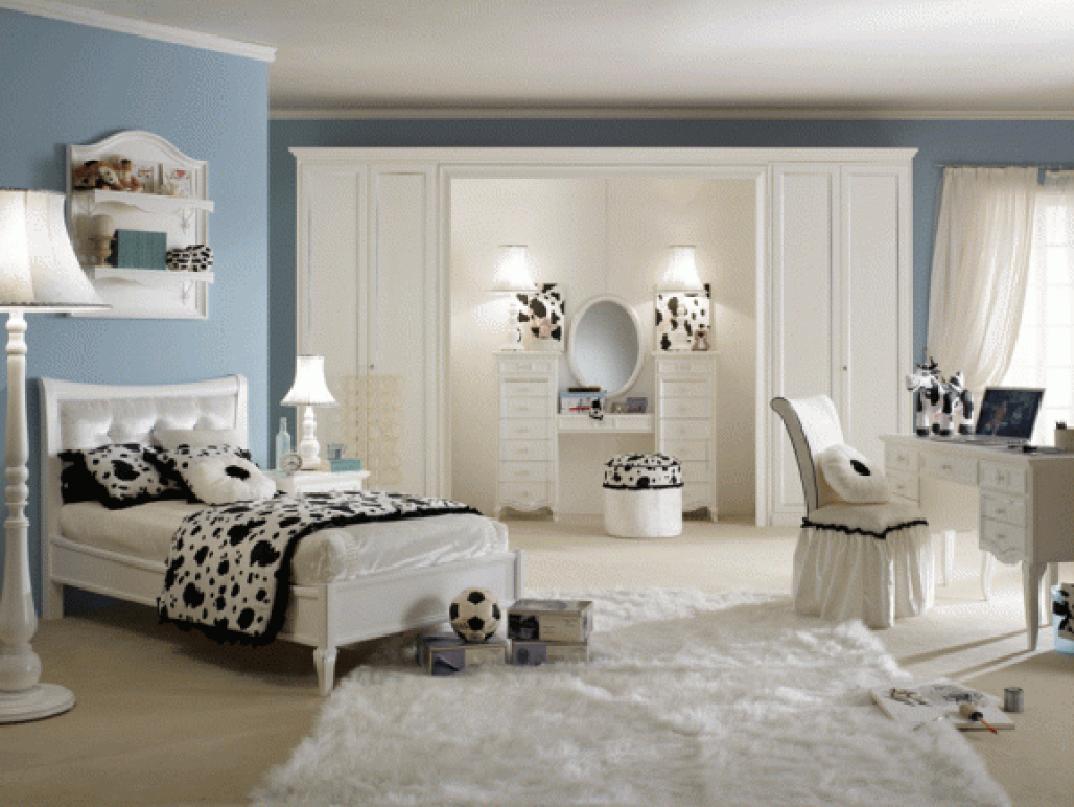 Image of: teenage girl bedroom decor