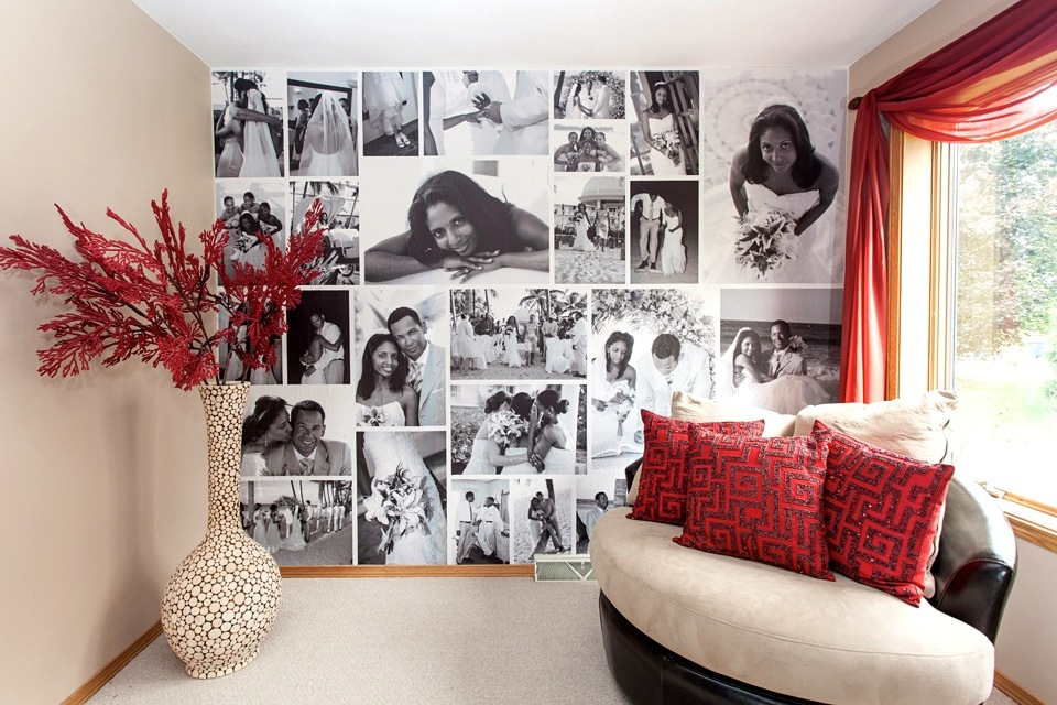 Image of: wall decoration ideas with photos