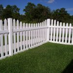 white picket fence designs