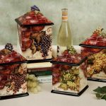 wine kitchen decor sets