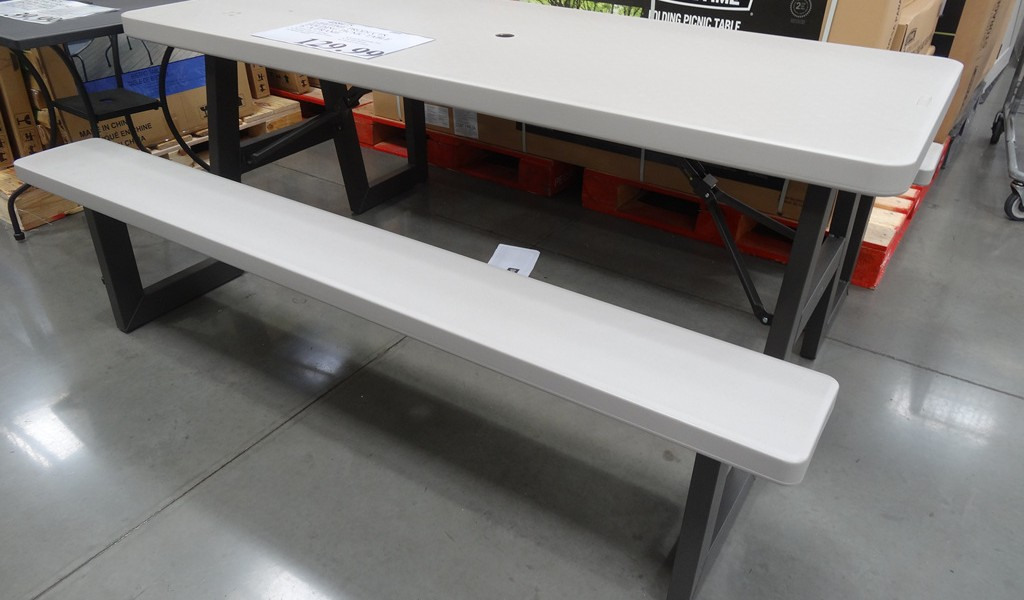 Image of: 5 foot folding table