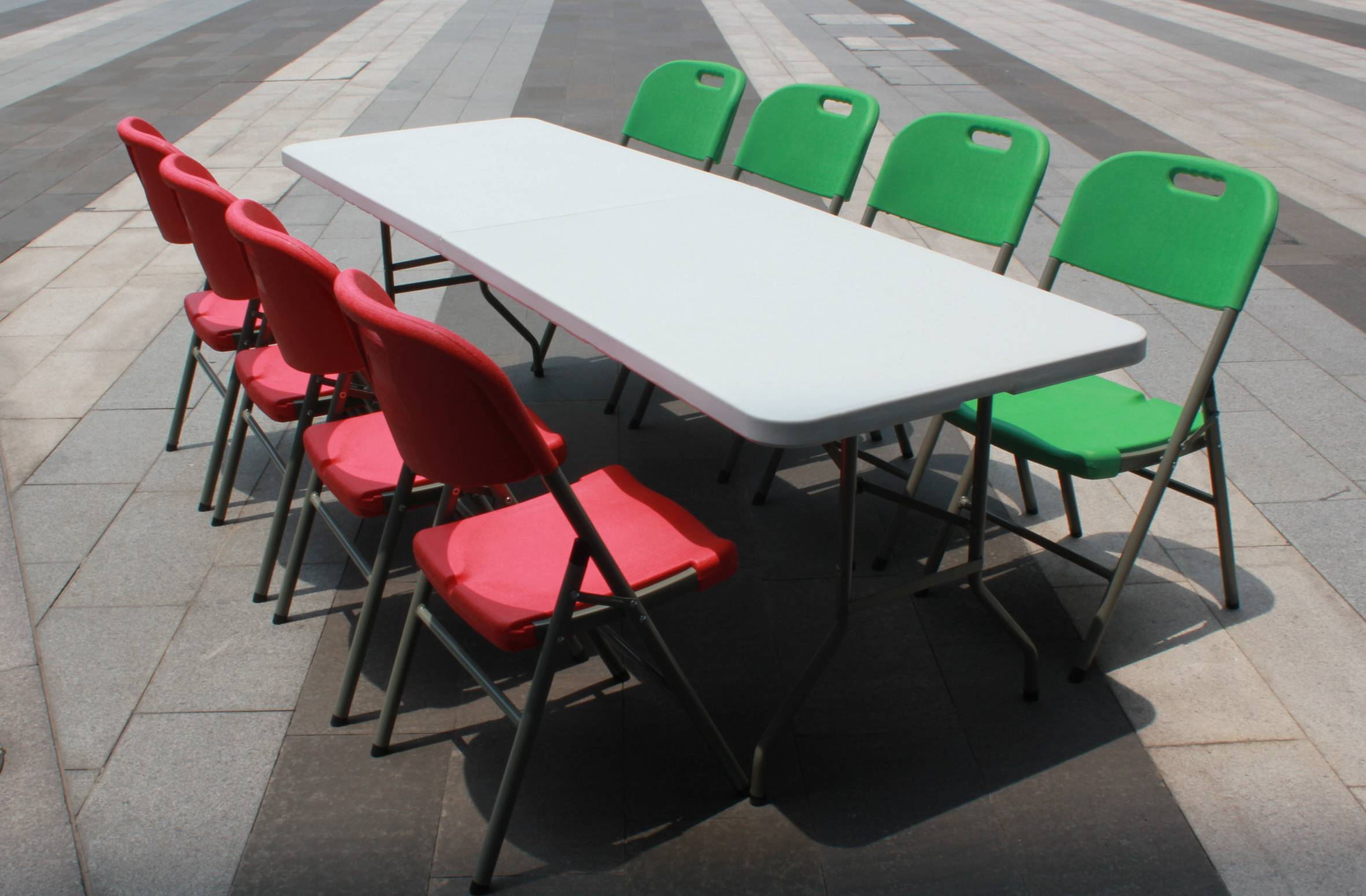Image of: 8 foot folding tables