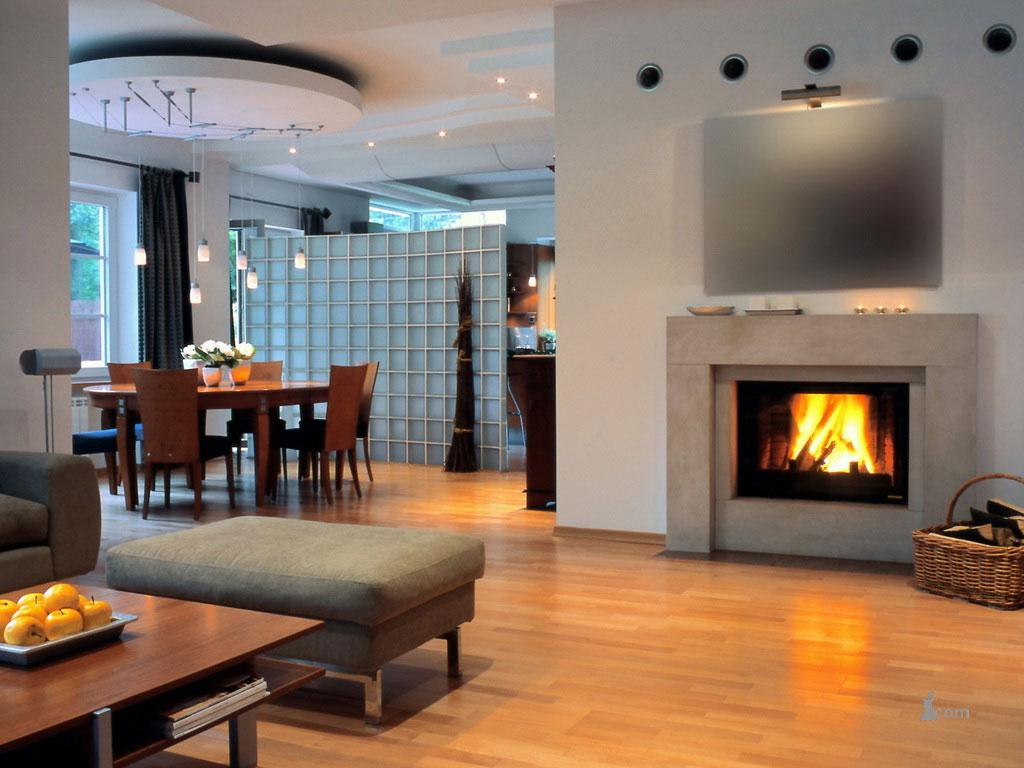 Image of: Contemporary Fireplace Designs Photos