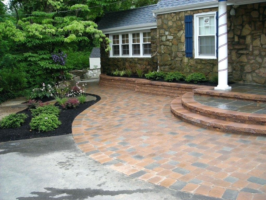 Image of: Driveway Design Pictures