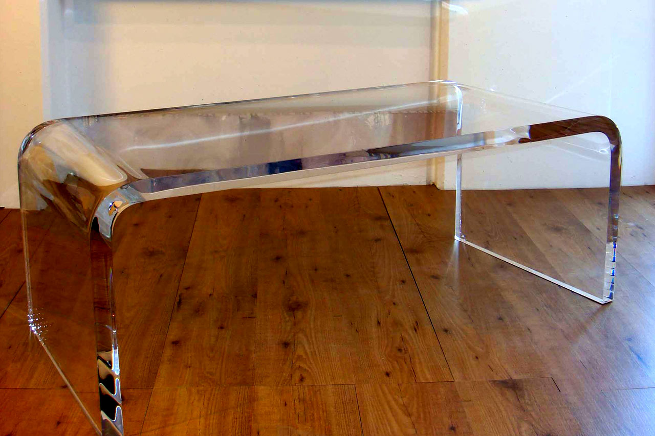 Image of: acrylic coffee table square