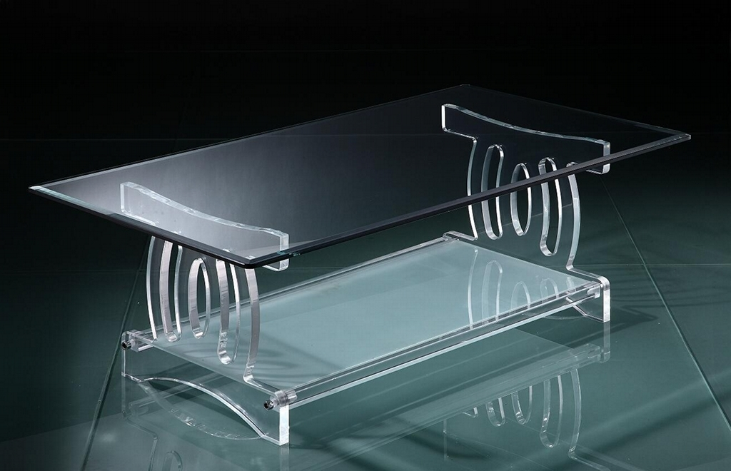 Image of: acrylic coffee table