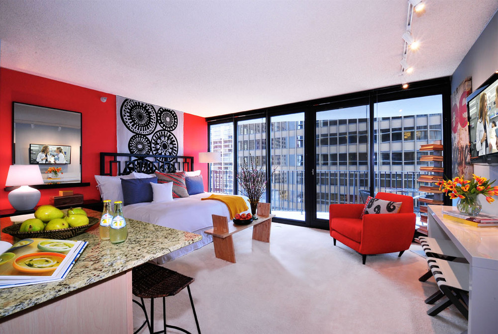 Image of: amazing studio apartment ideas