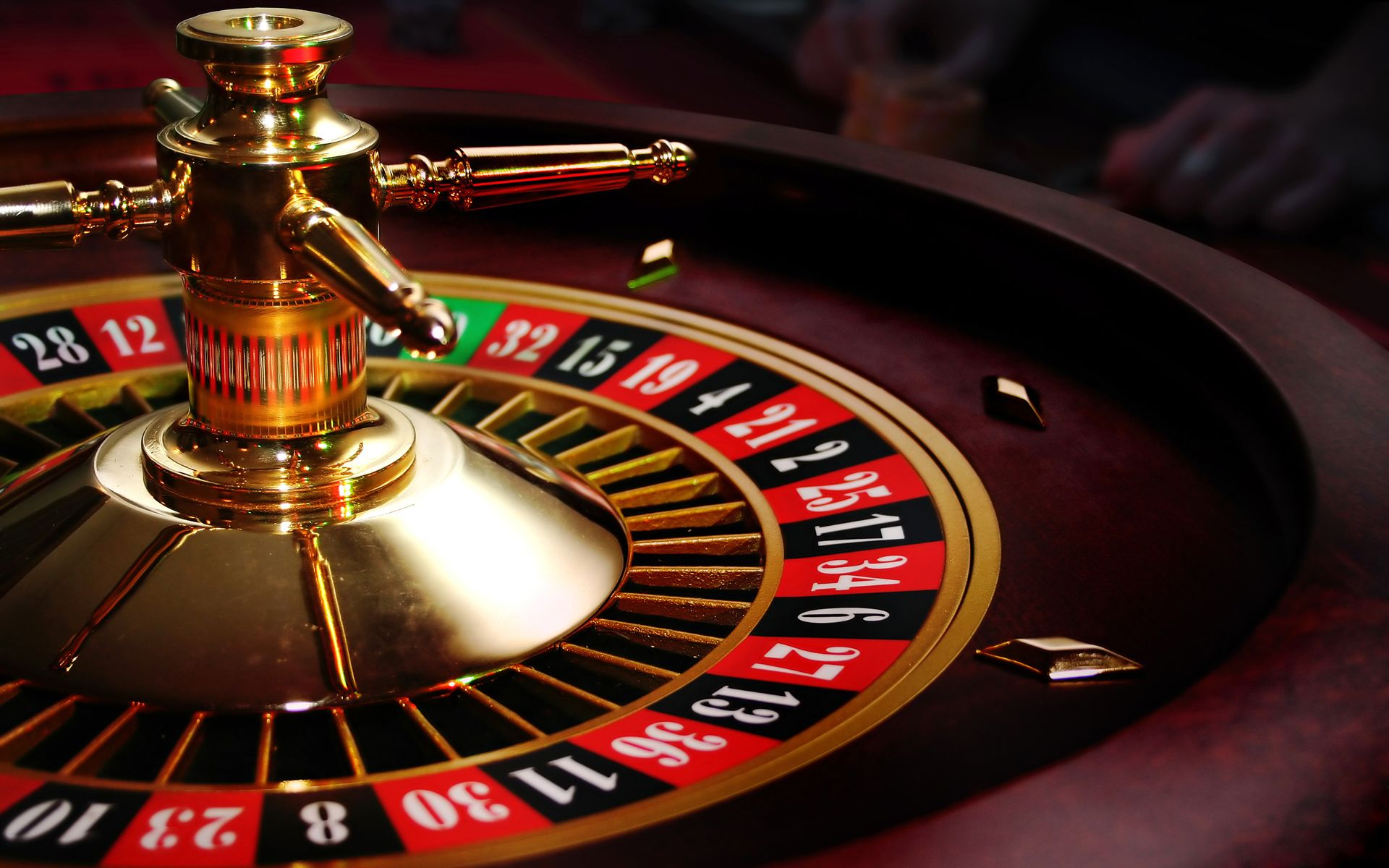 Image of: american roulette table layout