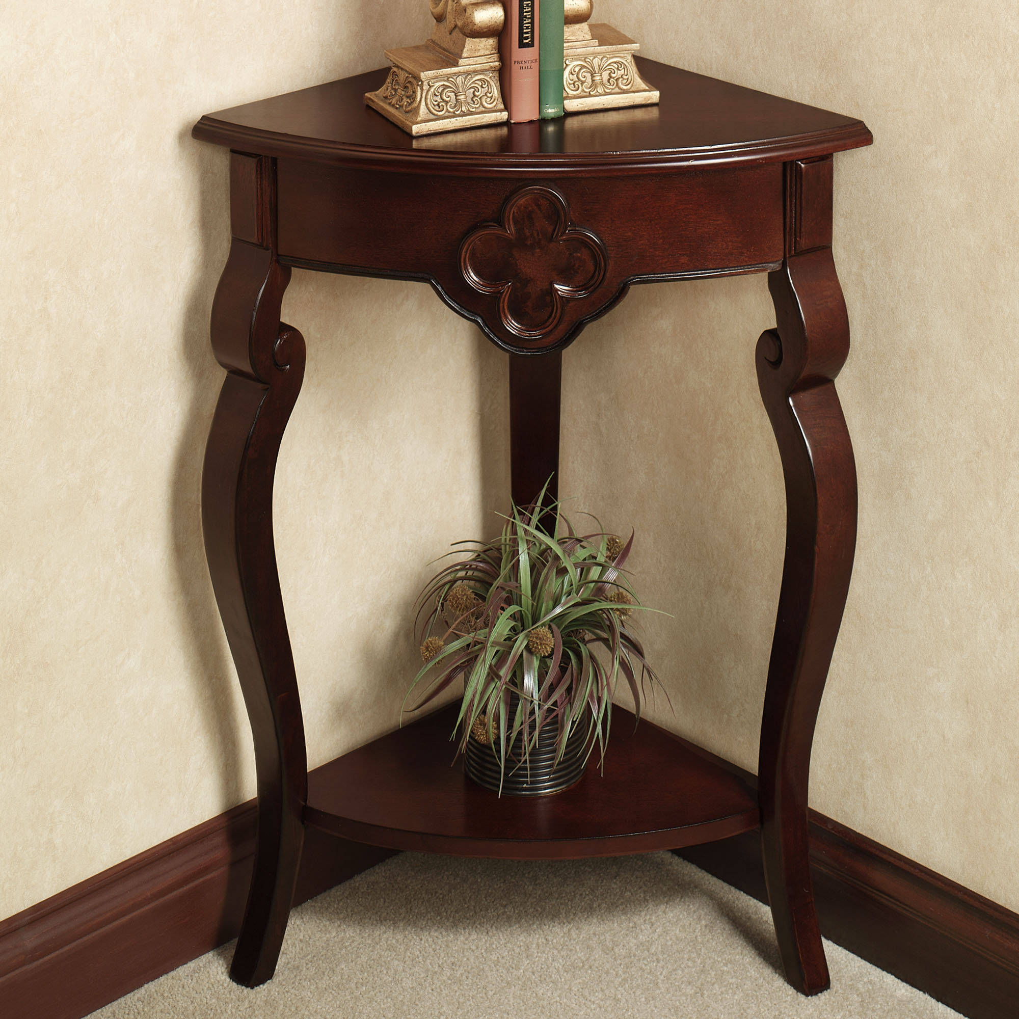 Image of: aruza corner accent table