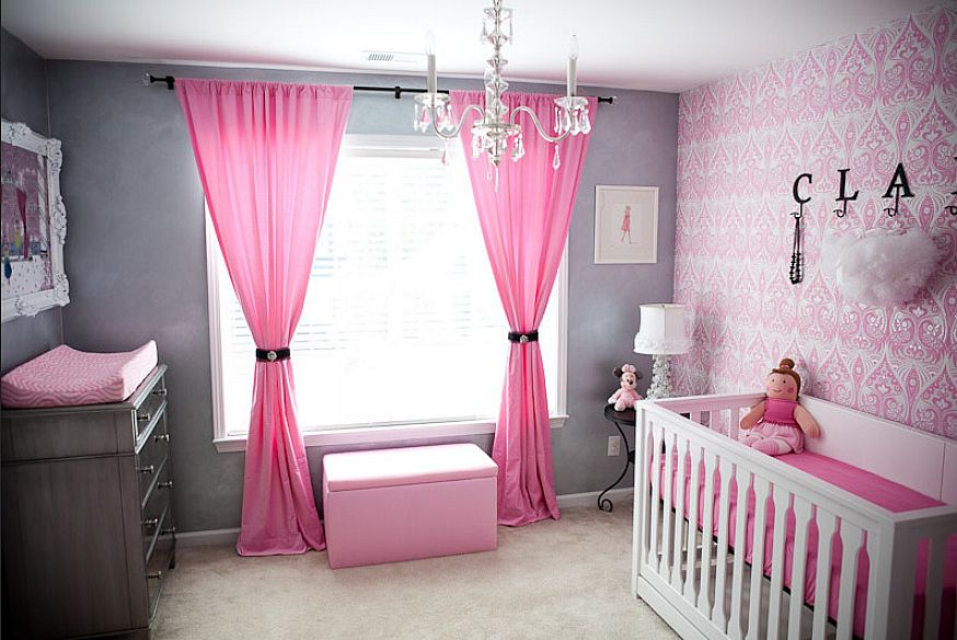 Image of: Baby Girl Bedroom Decorations
