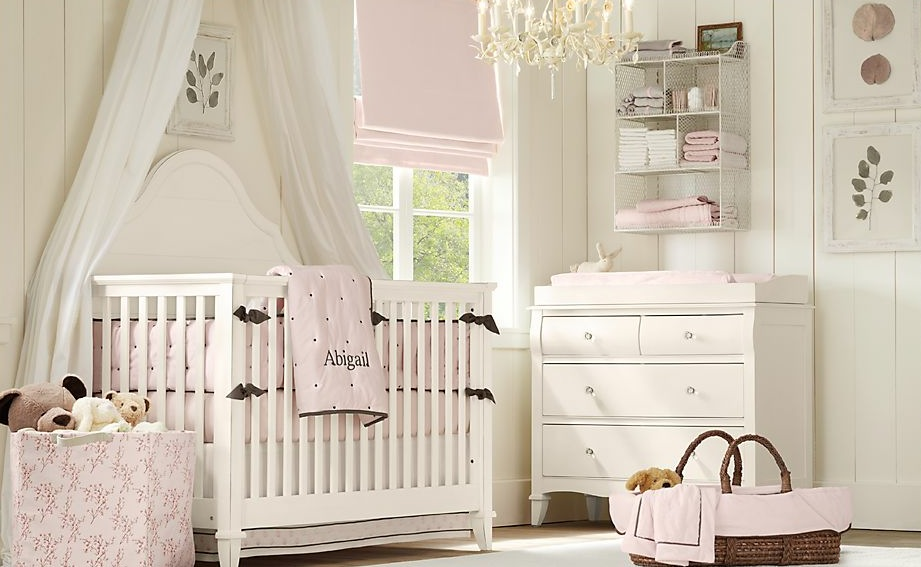 Image of: baby room decorating ideas white