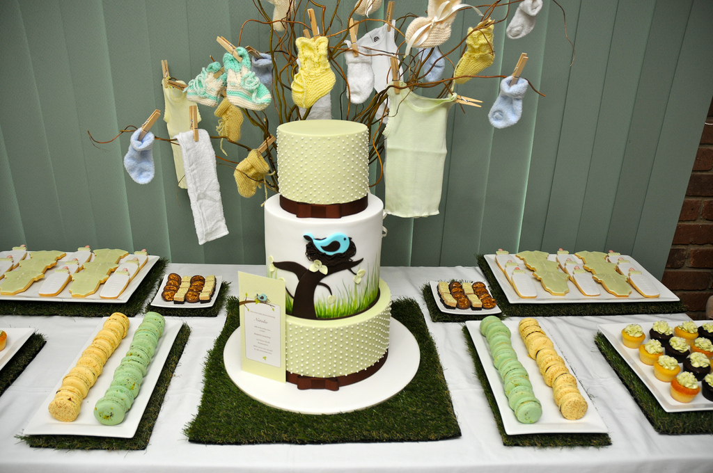 Image of: baby shower dessert table pinterest
